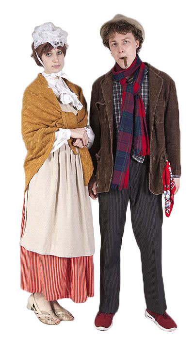 Saartje en Malle Pietje kleding