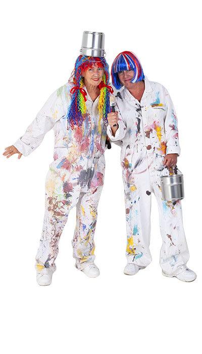 Huisschilder kostuum huren