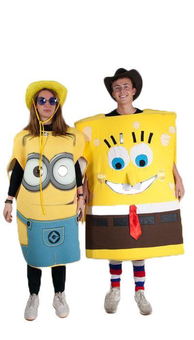 Minion en Sponge Bob kostuum huren