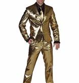 Modern Gouden glitterpak huren