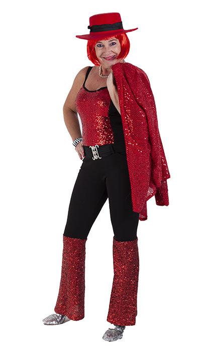 Disco outfit voor een vrouw
