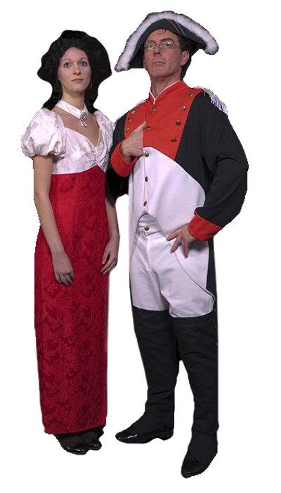 Napoleon en Josephine kostuum  huren