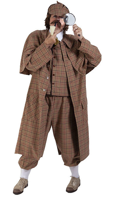 Sherlock Holmes kostuum huren