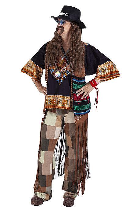 Hippie kleding voor een man
