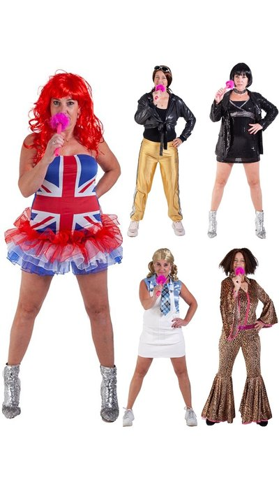 Spice Girls outfits