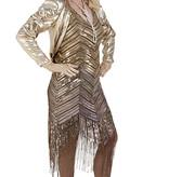 Gouden Peaky Blinders jurkje