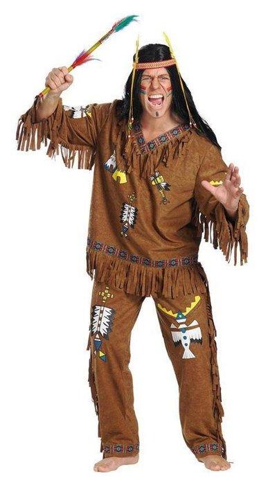 koop Bruin indianen pak