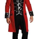 koop Rode piraten outfit