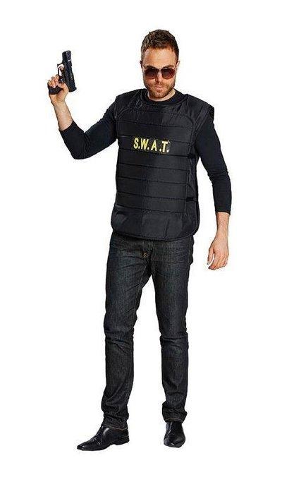 koop Zwart S.W.A.T vest te koop