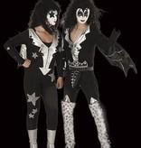 Kiss glamour rockband