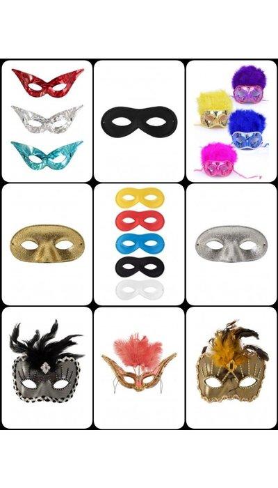 Gemaskerd bal maskers kopen