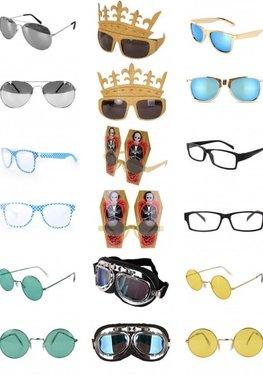 ✔ Brillen en maskers