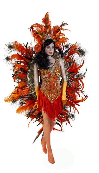 Braziliaans Carnavals kostuum