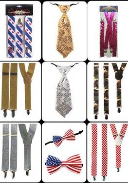 ✔ Strikjes - stropdassen - bretels