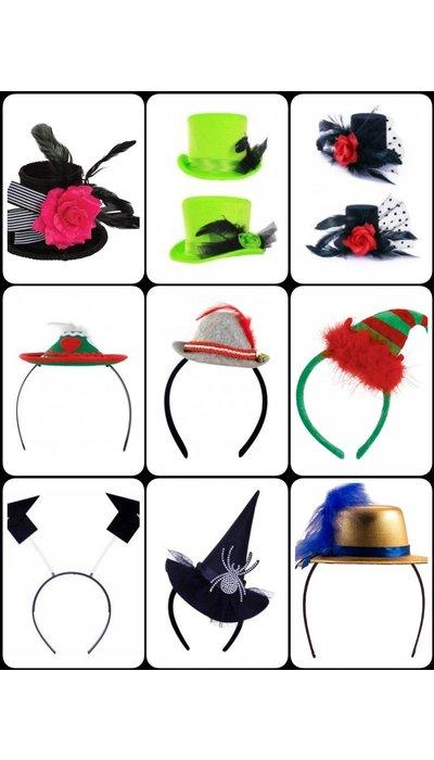 Kleine diadeem hoedjes kopen