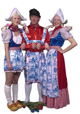 Ik hou van Holland kostuums huren