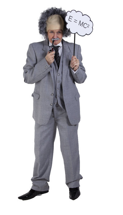 Albert Einstein kostuum huren