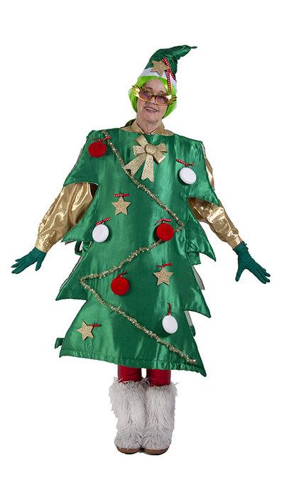 Kerstboom kostuum huren
