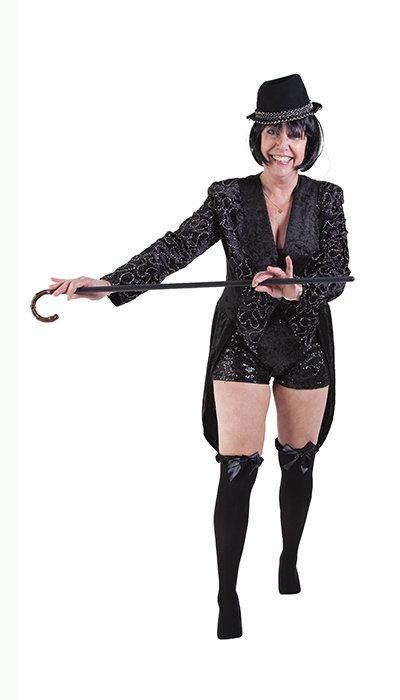 Cabaret outfit jaren 30