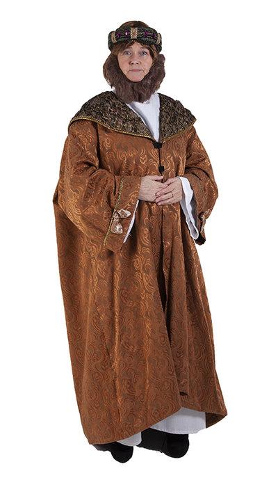 Verkleden in een konings kostuum