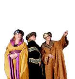 Koningskostuum van vroeger