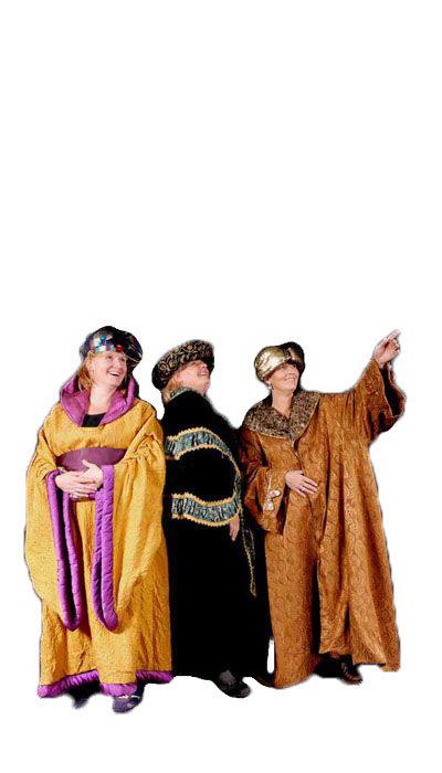 Oosters koningskostuum