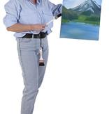 Kunstschilder Bob Ross outfit huren