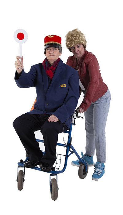 Johnny en Opa Flodder kostuum huren