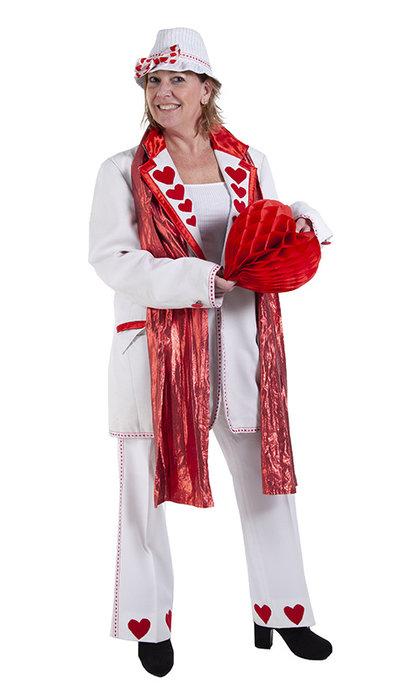 Valentijns kostuum huren