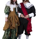 Historische 17de-Eeuwse kostuums huren