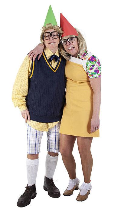 Theo en Thea kostuums huren