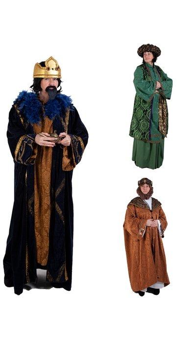 Paars kostuum voor een sultan