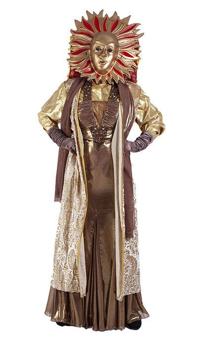 The Masked Singer kostuum de Zon