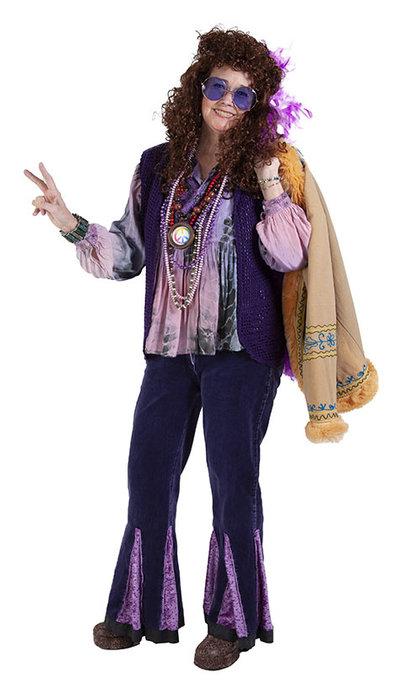 Sixties artiest Janis Joplin kostuum