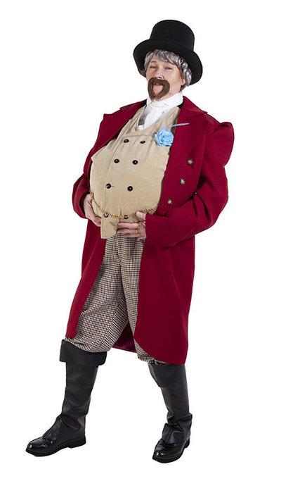 Circusdirecteur kostuum
