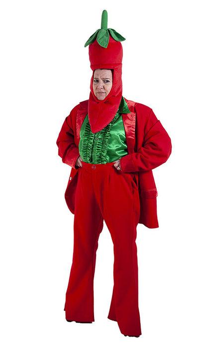 Rode Peper kostuum