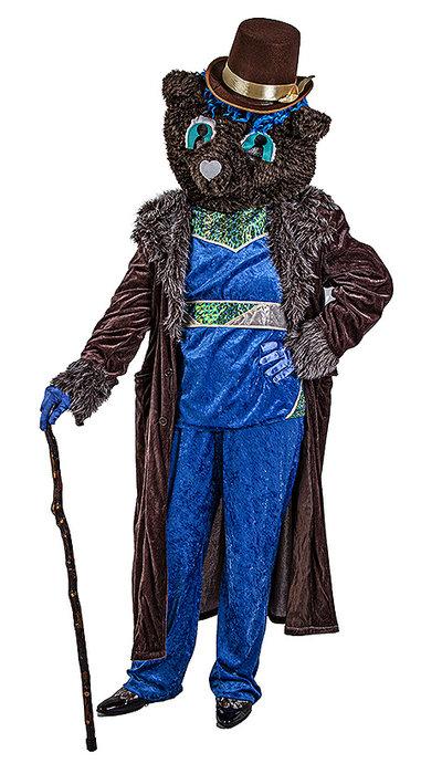 The Masked Singer Blue Bear kostuum huren