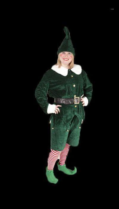 Kerst-elf kostuum huren - 175
