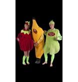 Toffe peer, aardbei, banaan kostuum huren - 206