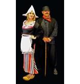Oud Hollandse boer & boerin kostuum