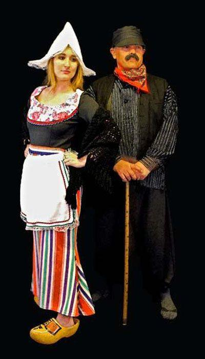 Oud Hollandse boer & boerin