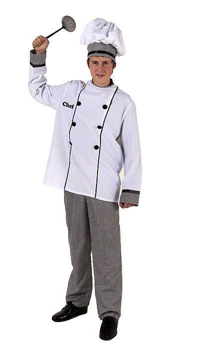 Chefkok kostuum