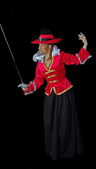 Engelse dame 17e eeuw kostuum huren - 260