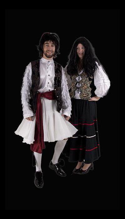 Kostuum van een Griek