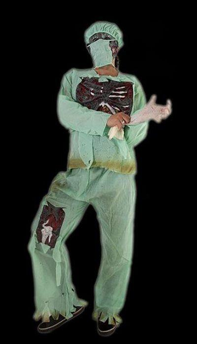 Horror Chirurg kostuum