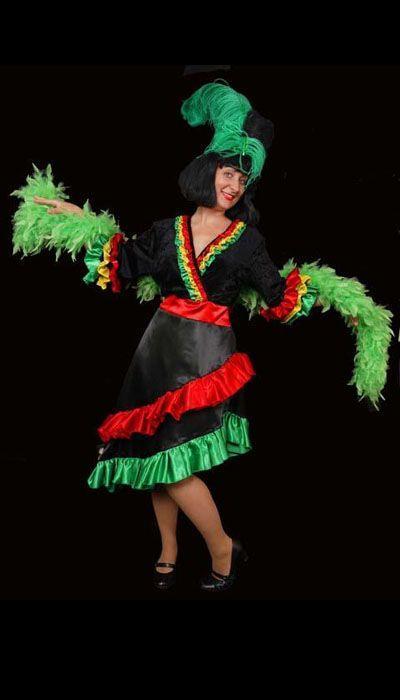 Braziliaans carnaval kostuum huren
