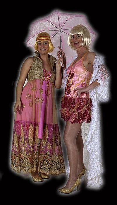 Burlesque jurkje huren - 302