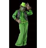 Groene griezel kostuum huren