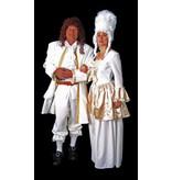Witte rococo kostuums huren - 335