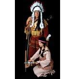 Indianen Opperhoofd kostuum  huren